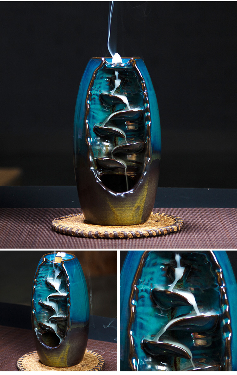 Incense Holder - Mountain River Handicraft - healing-waves