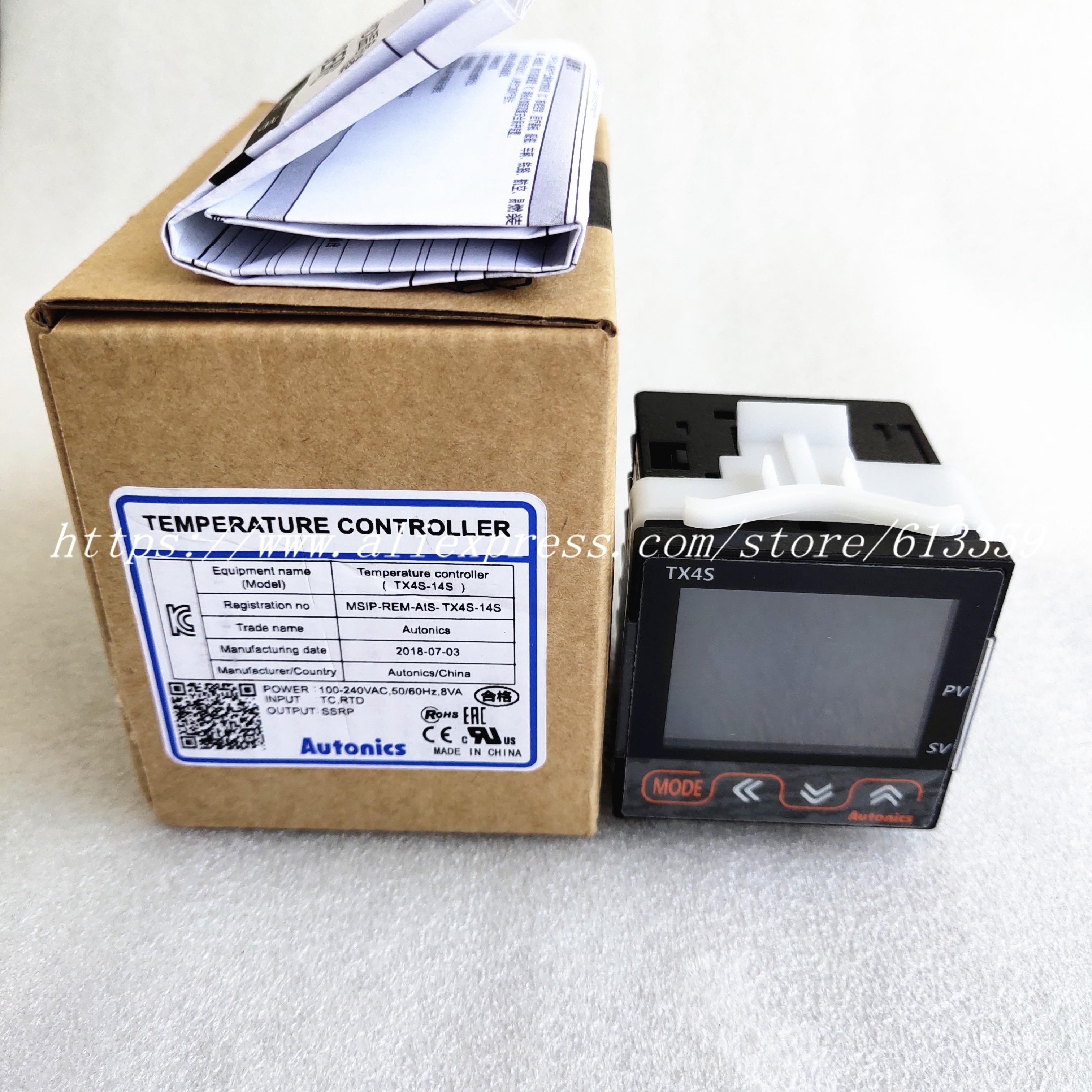TX4S 14S New original Temperature Controller 48 x 48 mm 100 240 VAC