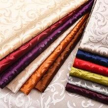 New sofa fabric thick gold velvet flower multicolor soft background pillow handmade DIY cloth