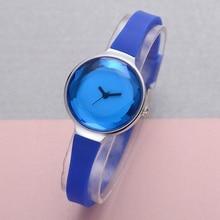 FanTeeDa Лидирующий бренд часы Для женщин 2017, Новая мода Повседневное Винтаж силиконовый ремешок для женские кварцевые платье Бизнес часы FD002