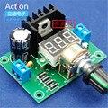 Placa de potência de tensão ajustável LM317 kit produção de partes de treinamento eletrônico DIY grande projeto da graduação do ensino secundário