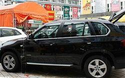 Górna dolna wykończenie całek ramy okiennej próg listwy 10 sztuk dla BMW X5 e70 2008-2013