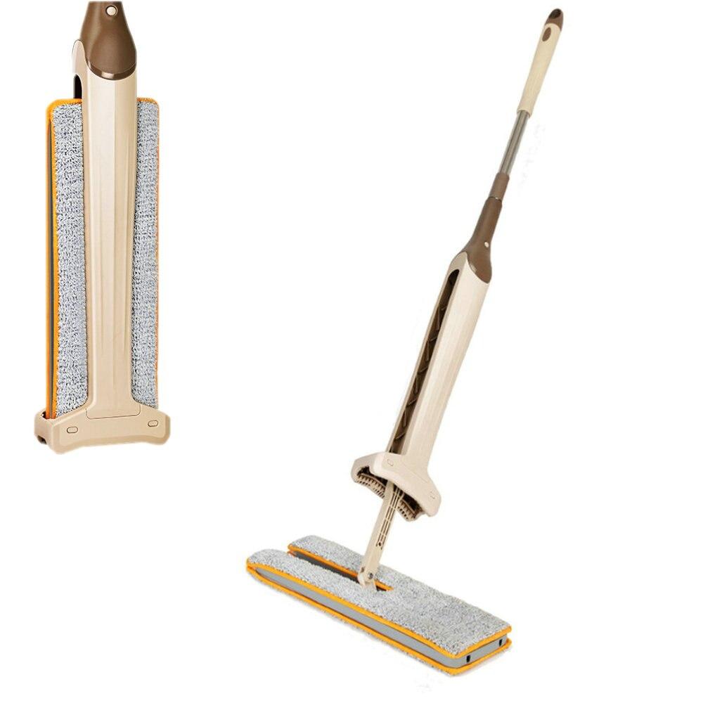 Self-ломая Двусторонняя без каблука швабры телескопическая удобная ручка швабры инструмент для чистки пола для гостиной кухня новое поступление