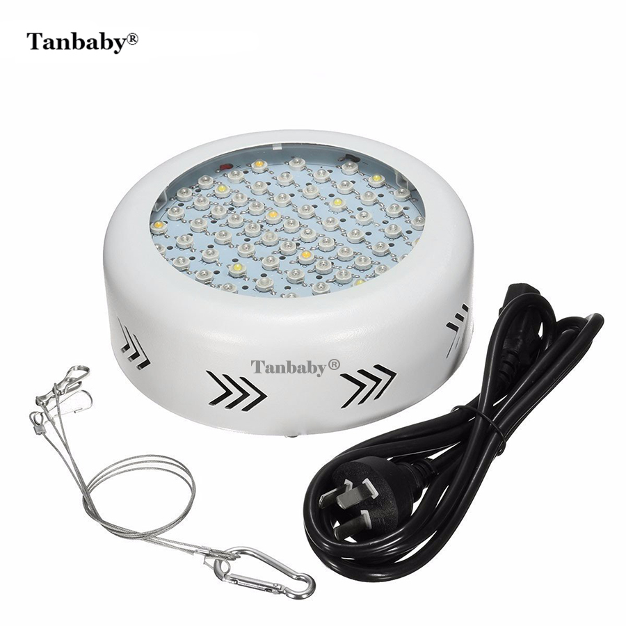 Tanbaby 72 pcs LED Chips Full Spectrum Plant Growing Lights Lamp Bulb for Garden Indoor Greenhouse Hydroponic Grow led grow lights 1000w full spectrum grow lights double chips growing lamp for indoor plants greenhouse hydroponic veg and flower