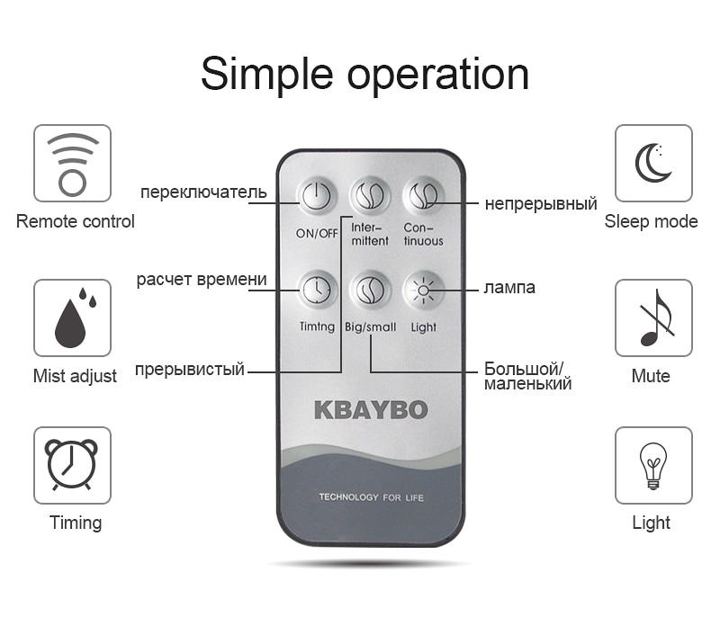 KBAYBO 400ml Aroma Essential Oil Diffuser Ultrasonic Air Humidifier - Perkakas rumah - Foto 3