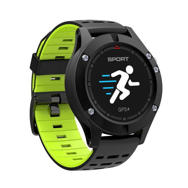 2018 SMART Watch F5 GPS heart rate monitoring Bluetooth 4 2 temperature Measurement smartwatch Waterproof Multifunction.jpg 640x640 - Smartwatch F5 GPS Heart Rate Monitoring Bluetooth Sport 2018 Model