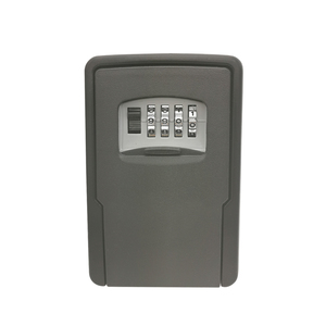 Image 1 - Key Storage Lock Box Wall Mounted Key Lock Box for House Keys Car Keys for Home Office With 4 Digit Combination