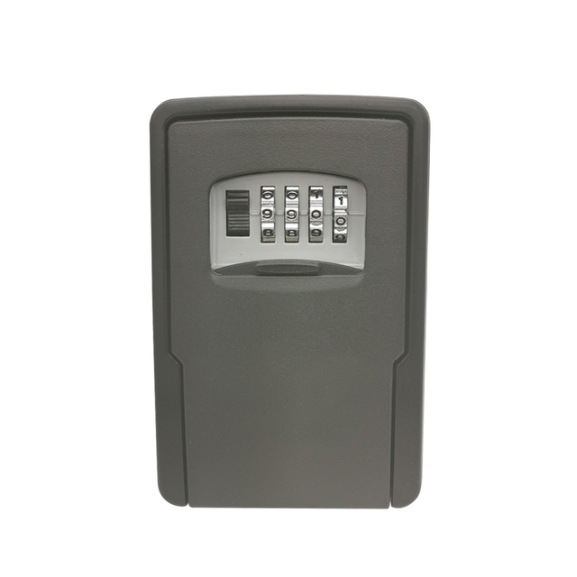 Key Storage Lock Box Wall Mounted Key Lock Box for House Keys Car Keys for Home Office With 4 Digit Combination
