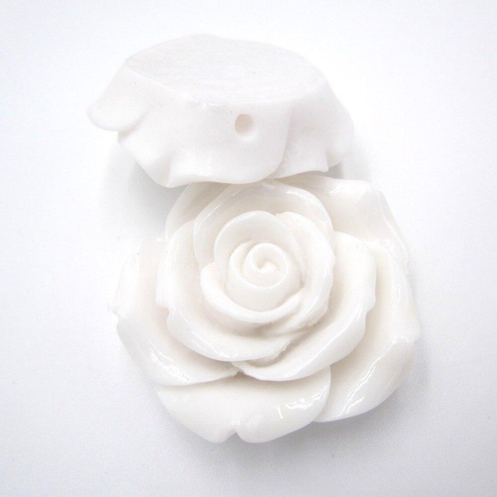 Rose en Résine fleur boutons 15 mm Sew Sur 2 trous 20 Pcs Sewing À faire soi-même Fabrication De Bijoux