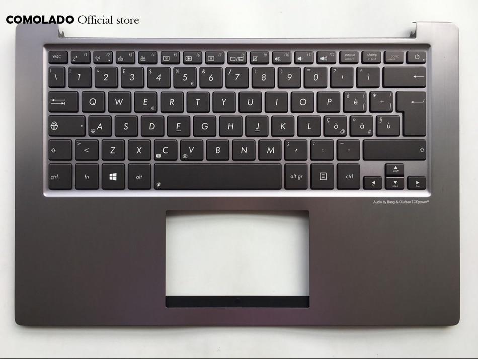 IT Italian backlight Keyboard for ASUS U38 U38DT UX32 UX31 with top case keyboard IT LayoutIT Italian backlight Keyboard for ASUS U38 U38DT UX32 UX31 with top case keyboard IT Layout