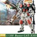 Daban Model Gundam Seed 1:100 MG GAT-X103 Buster Fighter Storm Robot Action Figure Assembled Anime Character Z.A.F.T Japan