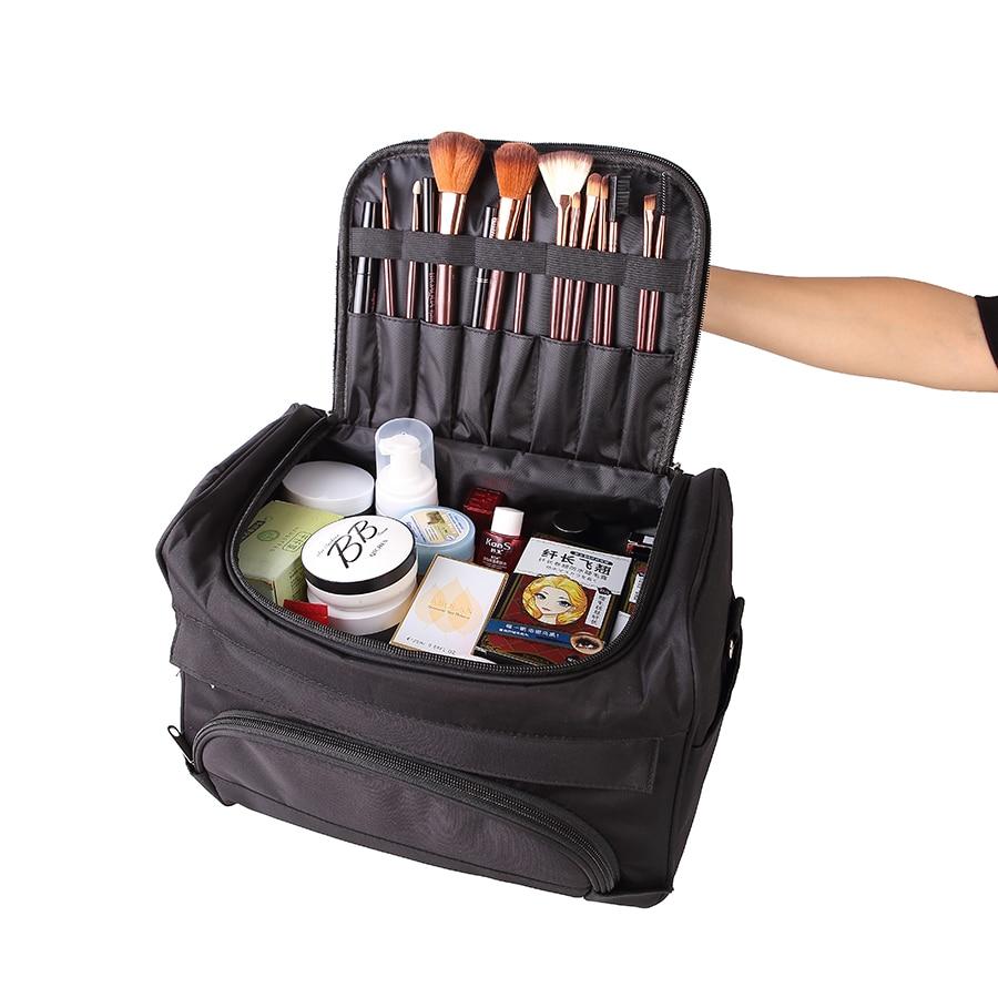 Fashion Women Travel Makeup Organizer Large Capacity Make up Bags Cosmetic Bag C