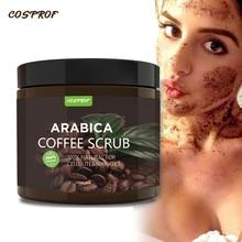 Coffee Scrub Body Cream Facial  Dead Sea Salt For Exfoliating Whitening Moisturizing Anti Cellulite Treatment Acne