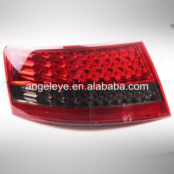 2003-2008 Año para Audi para A6L LED luz trasera lámpara roja negra color WH