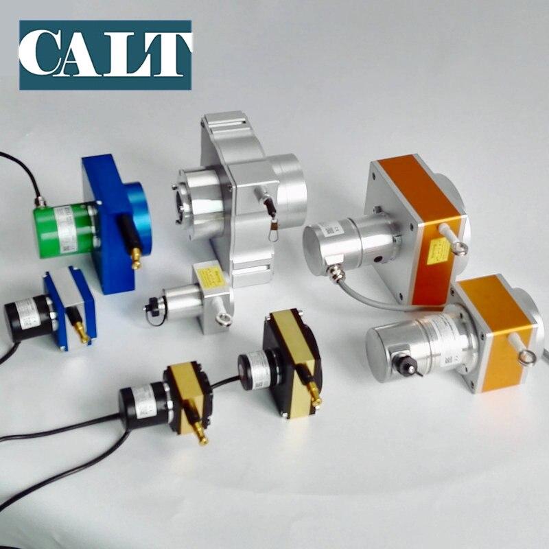 Низкая стоимость рисовать провода смещение потенциометра Длина датчик измерения сток 4000 мм датчик перемещения type string горшок