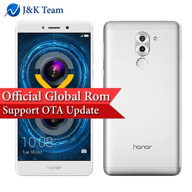 """Глобальной прошивки Huawei Honor 6X OTA обновление двойной сзади Камера 12MP 4 г FDD LTE смартфон Octa Core 5.5"""" 1920 * 1080pix отпечатков пальцев"""
