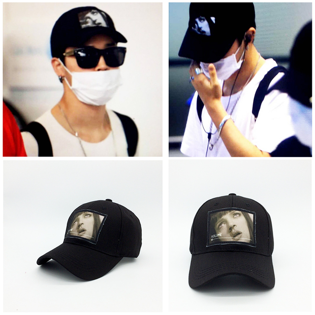 Kpop star goods Bts Bangtan boys fashion cap Jimin suga harajuku hat ulzzang cap suhun style
