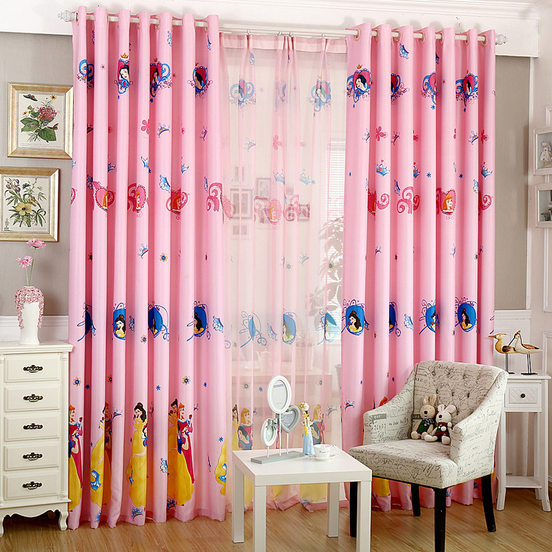 Cartoon Sailing Ship Design Shading Curtain Blackout: Aliexpress.com : Buy Cartoon Children Room Curtains For