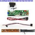 Monitor VGA Driver Controlador Board + 40 p Cabo Lvds Kits para LP173WD1-TLA1/TLA2/TLC1/TLD1/TLN1 1600x900 2ch Display LCD de 6 bits