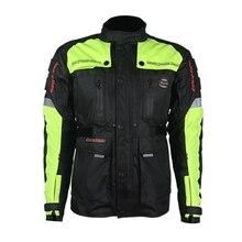 Ücretsiz kargo 1 adet Yeni Motosiklet Güvenlik Ceket Sıcak Rahat Spor Hi-vis Motosiklet Giyim 7 adet pedleri