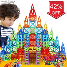 Vavis Tovey Blocks Educational Toys Kids Gift Mini Magnetic Designer Construction Set Model Building Toy new 180pcs mini magnetic designer construction set model