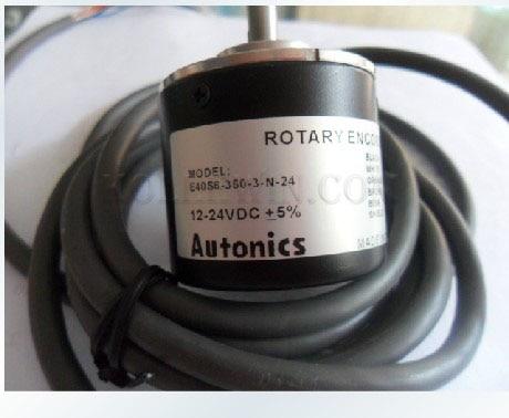 Autonics Roatry Encoder  NEW in Box 40H8-1000-3-N-24 Alto Knicks AUTONICS encode 40H8 1000 3 N 24, 40H8/1000/3/N/24 033 0512 8 encoder disk encoder glass disk used in mfe0020b8se encoder