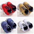 Infant Toddler Newborn Baby Shoes Baby Boy Shoes Sports Baby Sneakers Soft Bottom Anti-slip First Walkers Prewalker