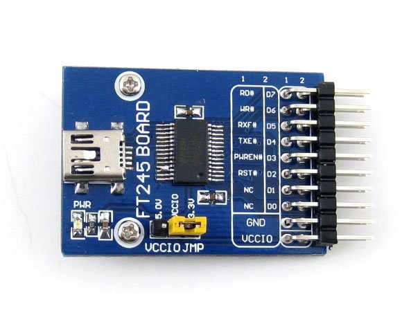 FT245 USB Module FT245R FT245RL USB Communication Development Board Kit USB TO Parallel FIFO