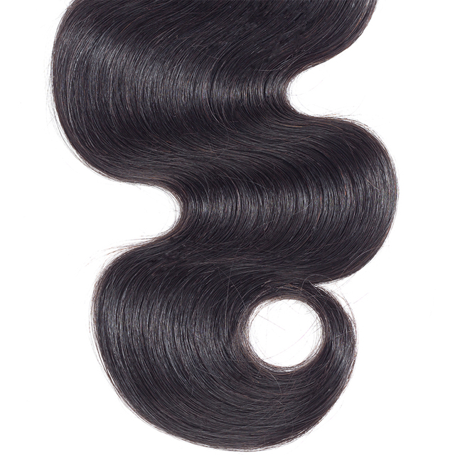 Natural Color 100% Human Hair Weaves Bundles