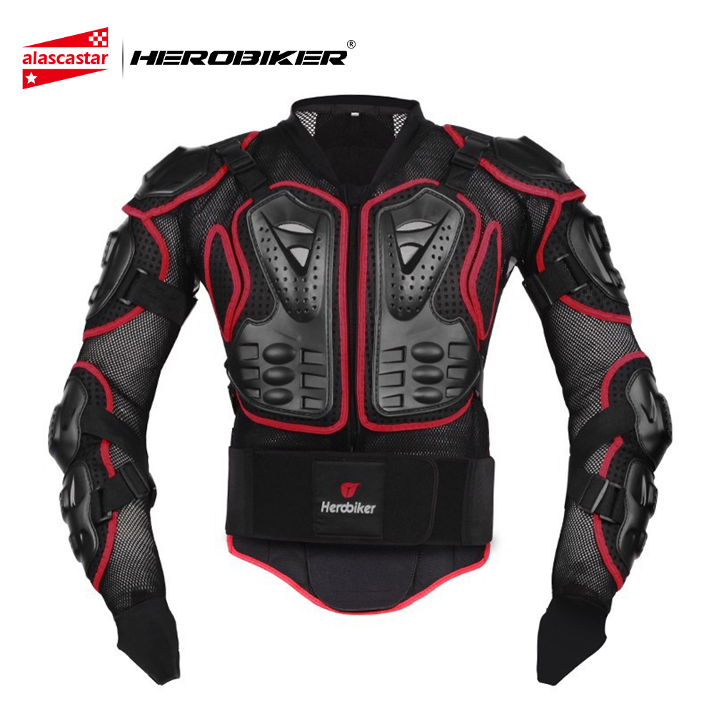 HEROBIKER Motorcycle Riding Armor Body Protector Motocross Off-Road Racing Jacket Guard Extreme Sport Protective Gear Accessory herobiker armor removable neck protection guards riding skating motorcycle racing protective gear full body armor protectors