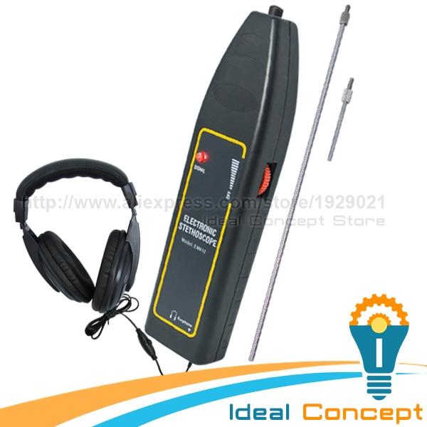 Automotive Noise Finder Electronic Stethoscope Machine Engine Diagnose 2 Probe 100Hz~10kHz Car Truck Automotive Noise Sensor