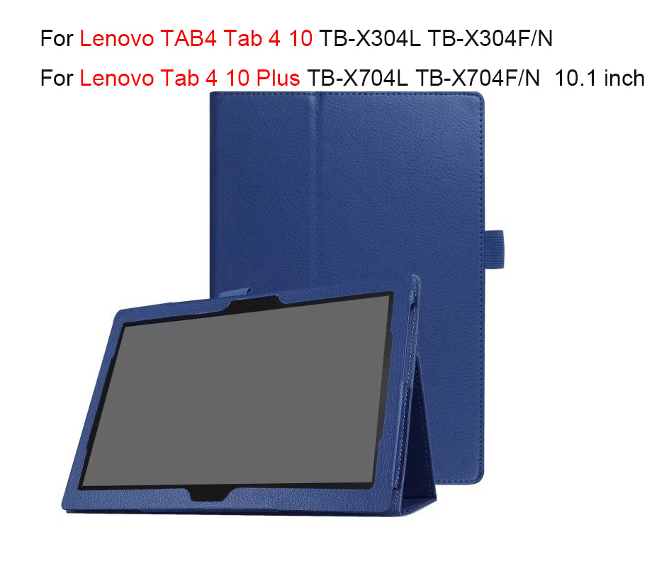 Smart Case For Lenovo TAB4 Tab 4 10 TB-X304L TB-X304F/N Cover For Lenovo Tab 4 10 Plus TB-X704L TB-X704F/N 10.1 '' Tablet Shell carry360 for lenovo tab4 10 tb x304f n protective smart case tablet pc cover for lenovo tab 4 10 plus tb x704f pu leather case