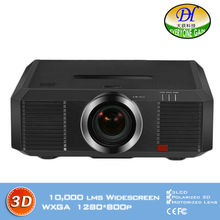 DH-8802 3D 10000lms Engineering Projector Motorized lens Full HD 1280*800P Proyector Lamp 3LCD  Built in speaker Beamer