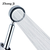 Bathroom Accessories Water Saving Shower Heads Chrome Electroplated Handheld ABS High Pressure Showerhead Free Shipping ZJ113
