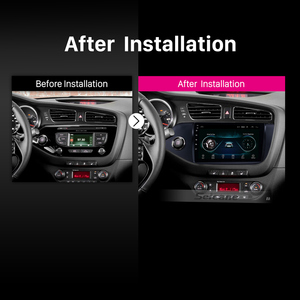 "Image 5 - Seicane Android 8.1 2din 9 ""Car Multimedia Player WIFI Bluetooth GPS Navigatie Voor 2012 2013 2014 Kia Ceed LHD wifi Head Unit"