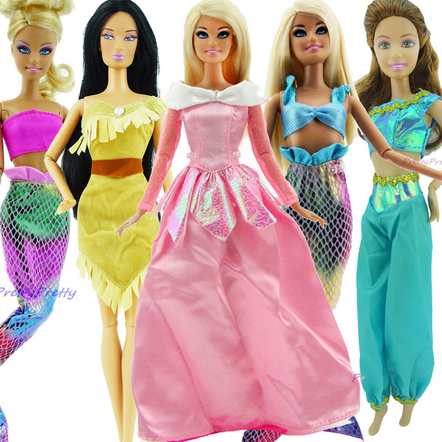Vestidos de fiesta para barbie juegos