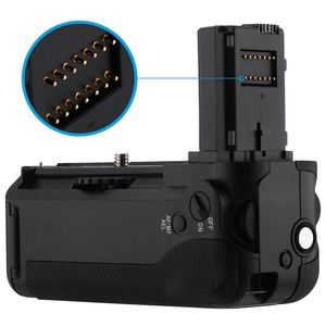 Image 5 - Vg C1Em pil kulbu yedeği Sony Alpha A7/A7S/A7R dijital Slr fotoğraf makinesi WorkMulti güç pil paketi değiştirme