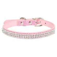 Rhinestone Embellished Collar for Pets
