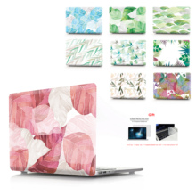 Color printing leaf Case For MacBook Air Retina Pro 11 12 13 15 New with Touch Bar