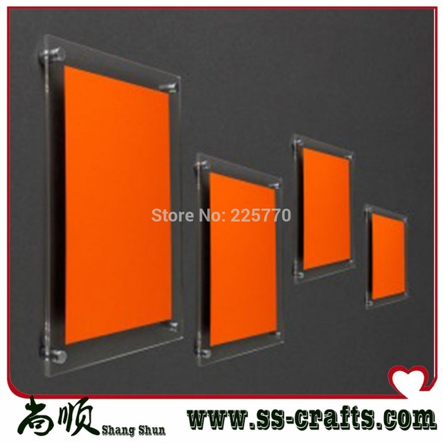 Wall mounted acrylic photo frame,wall hanging photo frames 24x36 ...