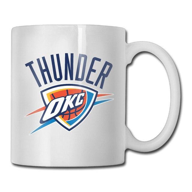 oklahoma city basketball logo coffee mug design your own grandpa tazas ceramic tumbler caneca tea cups