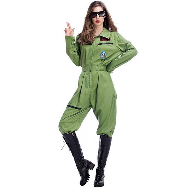 Women's Pilot Uniform Costume