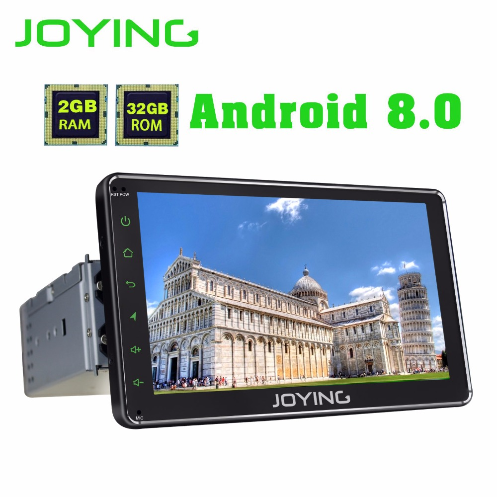 JOYING latest 1 din android 8 0 font b car b font font b radio b
