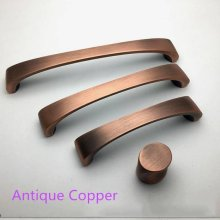 3.75 5 6.3 Antique Copper Bronze Drawer Pulls Knobs Black Dresser Handle Brushed Nickel Kitchen Cabinet Door Handles Knob
