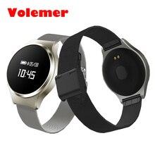 Новый volemer A68 Водонепроницаемый сердечного ритма SmartBand крови Давление Смарт часы браслет крови oxgen Браслет для iOS телефона Android
