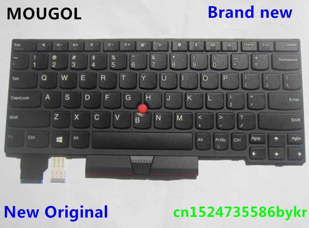Original New Fit IBM Lenovo 01AX405 01AX364 US Black Keyboard