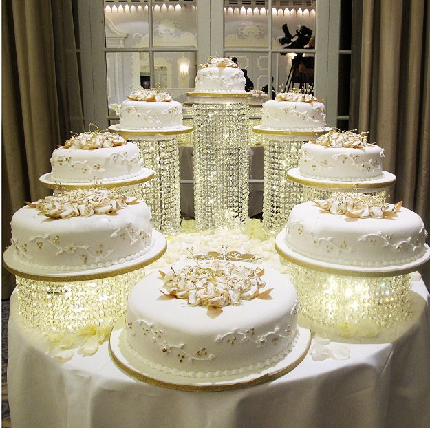Online Amazing Wedding Cake Stand Crystal Centerpieces Several To Be A Nice Combination Aliexpress Mobile