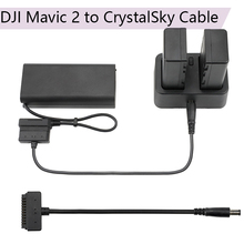 Battery Charging Cable for DJI Mavic 2 to CrystalSky HD Screen Connect line Display Adapter for DJI Mavic 2 Pro Zoom Cord все цены