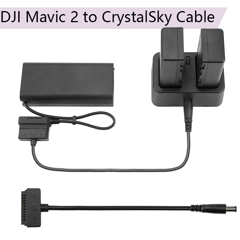 DJI Mavic 2 to CrystalSky Battery Charging Cable HD Screen Connect line Display Adapter for DJI Mavic 2 Pro/Zoom Cord Drone Part