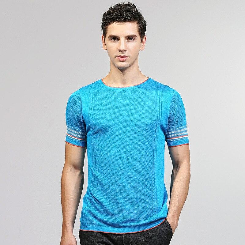 Summer Classic Men T tee male shirt homme Short Sleeve Men T-shirt Cotton Tees Tops Mens Brand tshirt slim fit fashion tshirts